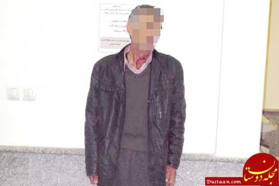 www.dustaan.com مردی که همسرش را در مقابل چشمان دو فرزندش به قتل رساند +عکس