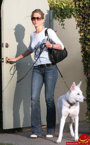 www.dustaan.com خانم بازیگر برای سگش خانه ۴ میلیاردی خرید! +عکس