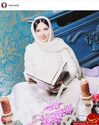 www.dustaan.com عکس سفره عقدی لیلا اوتادی! +عکس