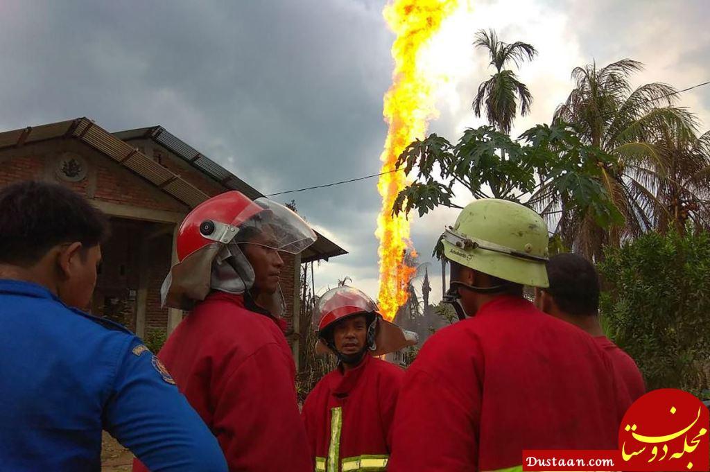 www.dustaan.com آتش سوزی مرگبار در اندونزی/ 18 کشته و 41 زخمی تاکنون +عکس