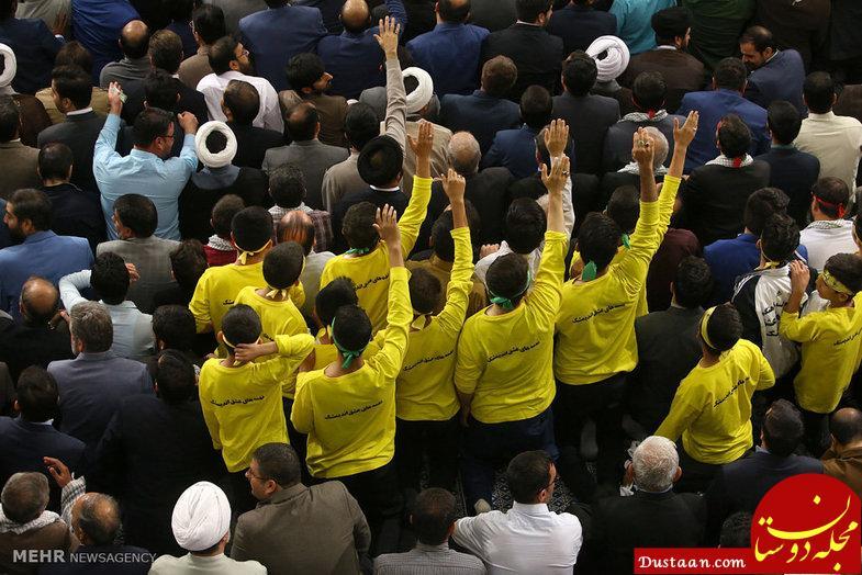 www.dustaan.com دیدار شرکتکنندگان مسابقات بینالمللی قرآن با رهبری +تصاویر