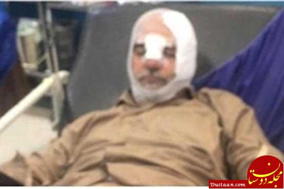 www.dustaan.com حادثه رانندگی برای حسین الله کرم