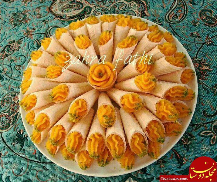 www.dustaan.com طرز تهیه حلوای آرد برنج ( ترحلوا ) به سبکی خوشمزه