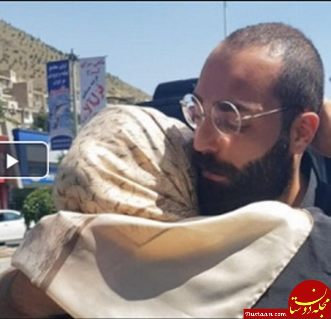 www.dustaan.com حمید صفت از زندان آزاد شد +عکس
