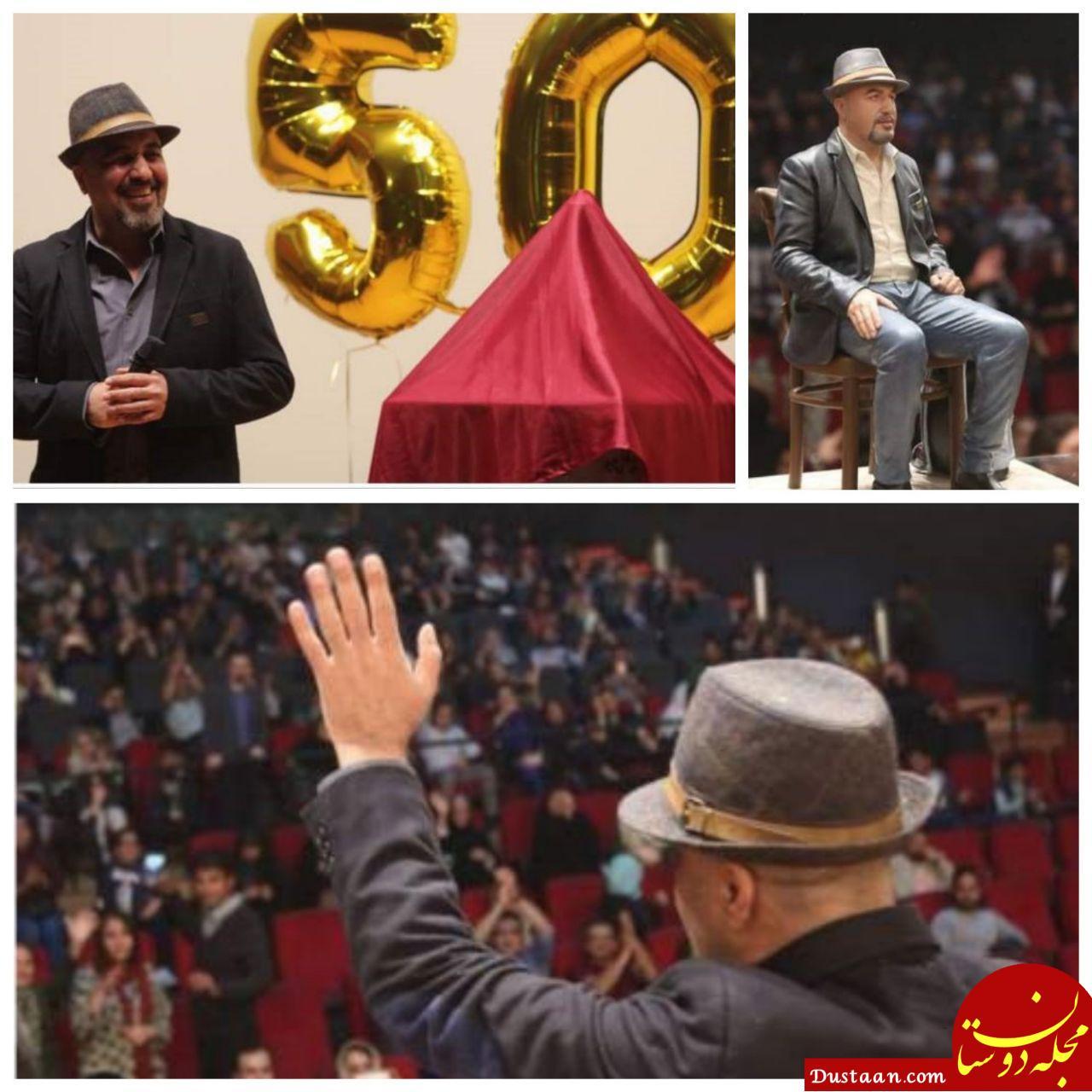 www.dustaan.com جشن تولد ۵۰ سالگی «رضا عطاران» در مشهد +تصاویر