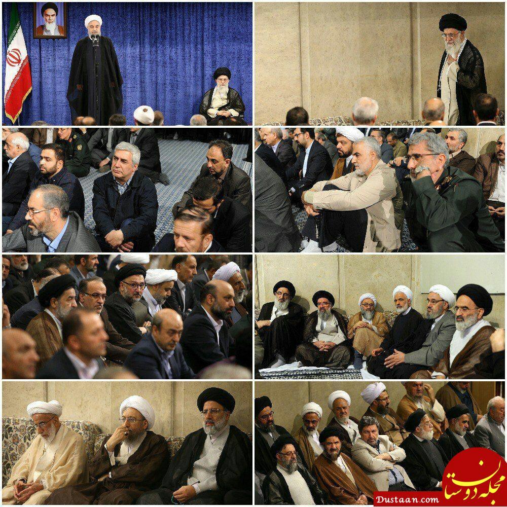 www.dustaan.com رهبر انقلاب: در شکست دشمن شک نداریم/ رئیس جمهوری کنونی آمریکا هم سرنوشتی بهتر از اسلافش نخواهد داشت