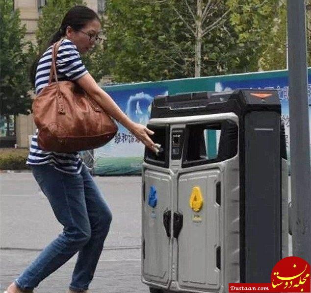 www.dustaan.com سطل های زباله مجهز به وای فای در چونگکینگ چین