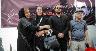 عکس ها و حواشی مراسم تشییع پیکر ناصر ملک مطیعی +فیلم