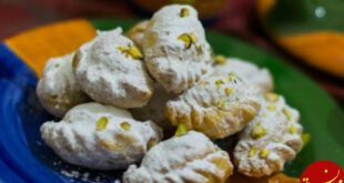 طرز تهیه شیرینی قطاب به سبکی خوشمزه و سنتی