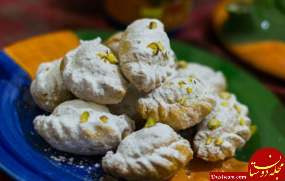 www.dustaan.com طرز تهیه شیرینی قطاب به سبکی خوشمزه و سنتی