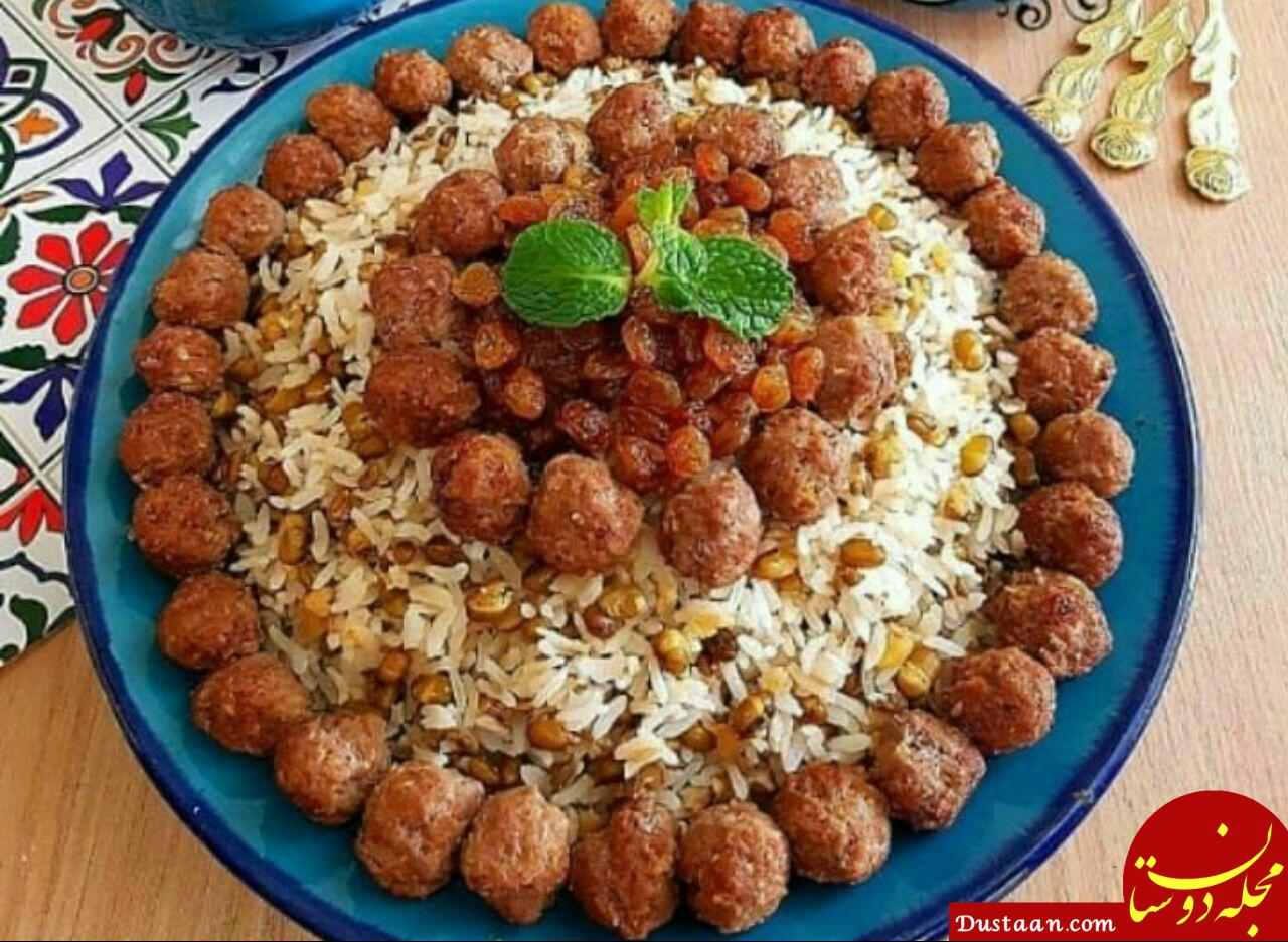 www.dustaan.com طرز تهیه ماش پلو به سبکی خوشمزه