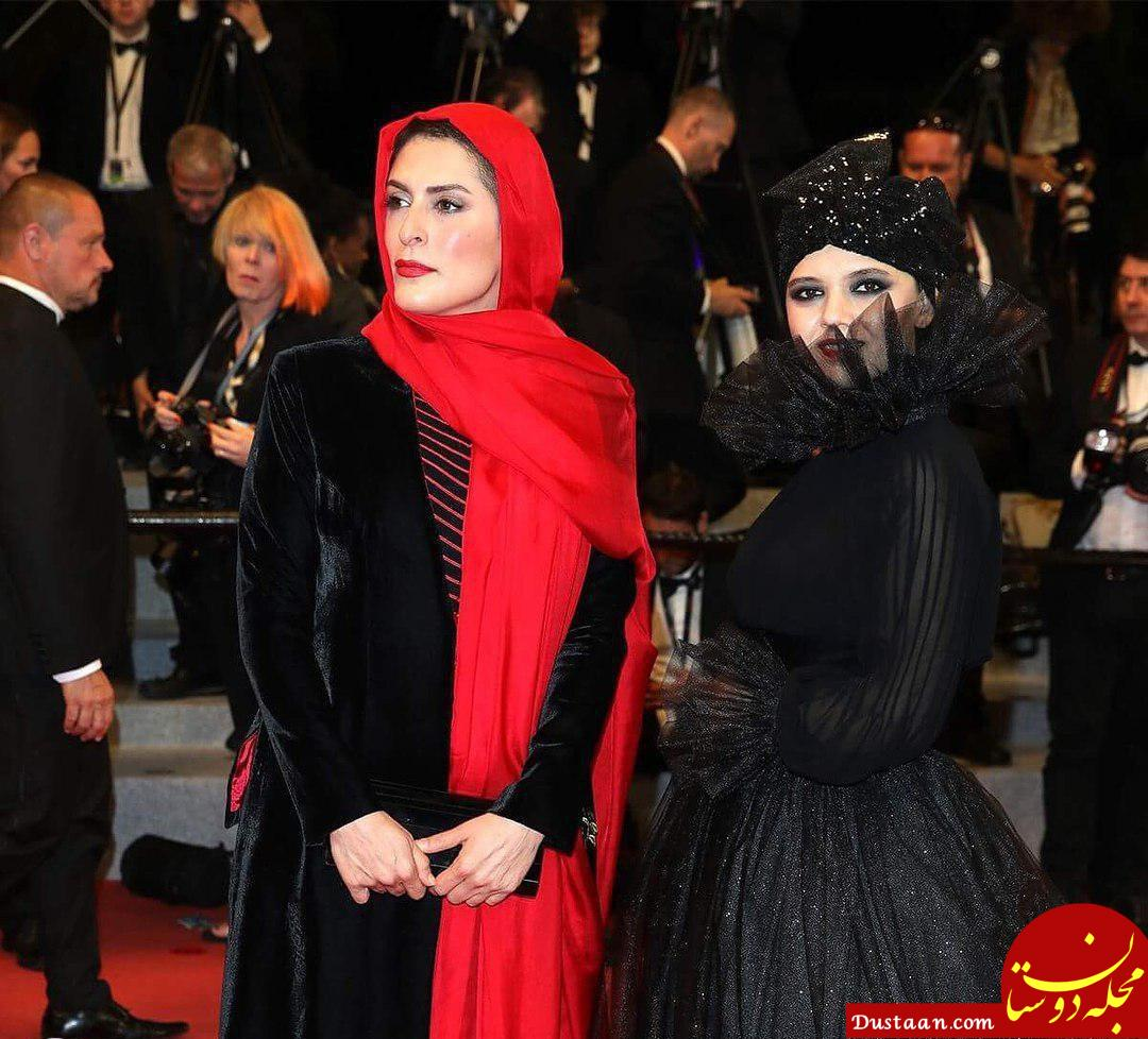 لباس متفاوت مرضیه رضایی در جشنواره مراسم کن +عکس