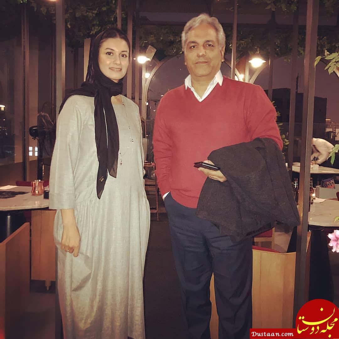 www.dustaan.com مهران مدیری و لیدا فتح الهی در یک قاب +عکس