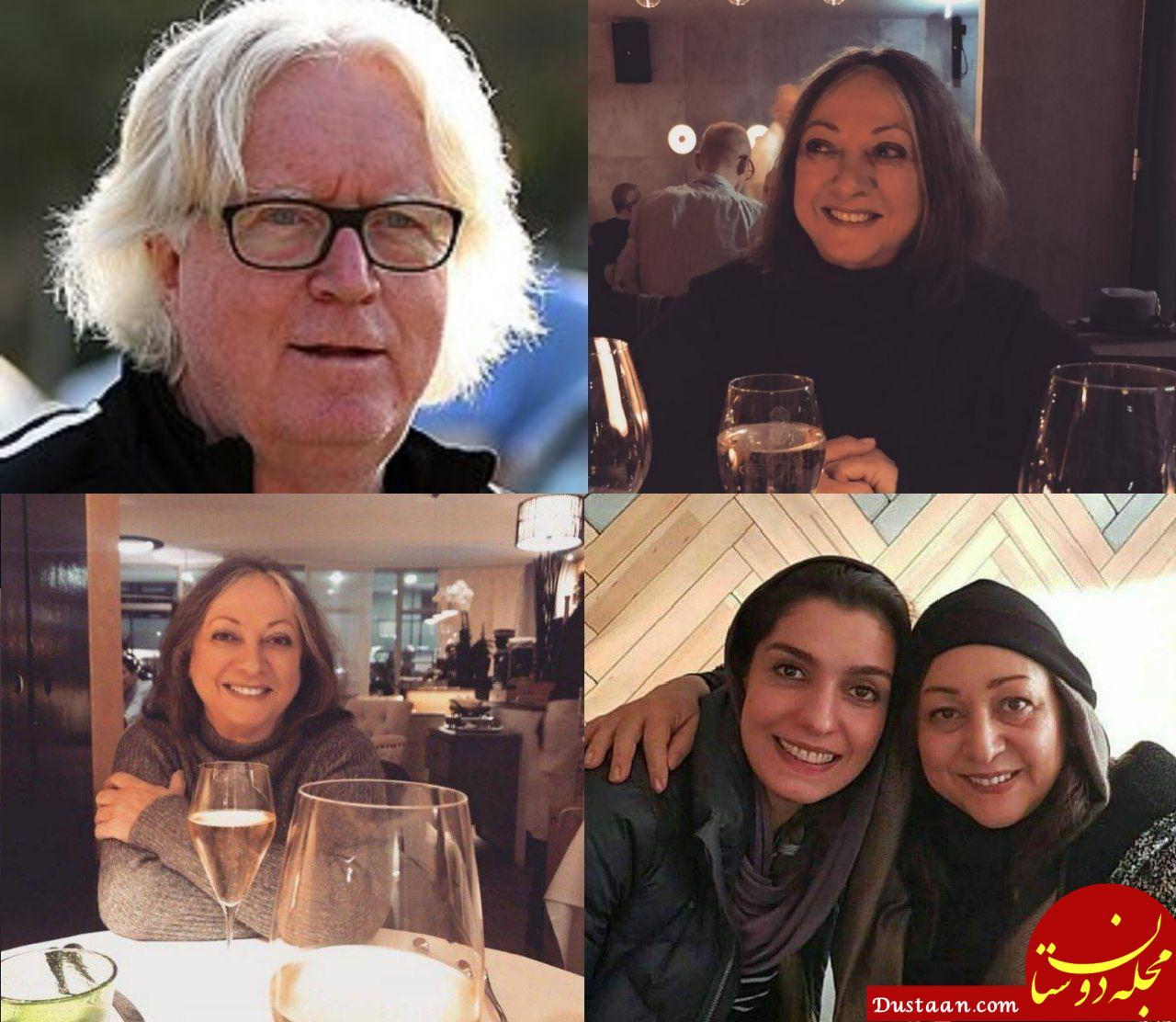 www.dustaan.com شباهت جالب همسر سرمربی استقلال به بازیگر ایرانی! +عکس