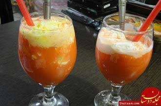 www.dustaan.com طرز تهیه دسر هویج بستنی به سبکی خوشمزه