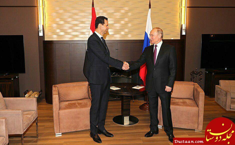 پوتین در دیدار با اسد: خارج شدن نیروهای خارجی از سوریه به زودی آغاز می شود
