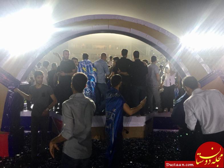 سرمربی استقلال مبهوت آبروریزی بزرگ جیمی جامپ ها +تصاویر
