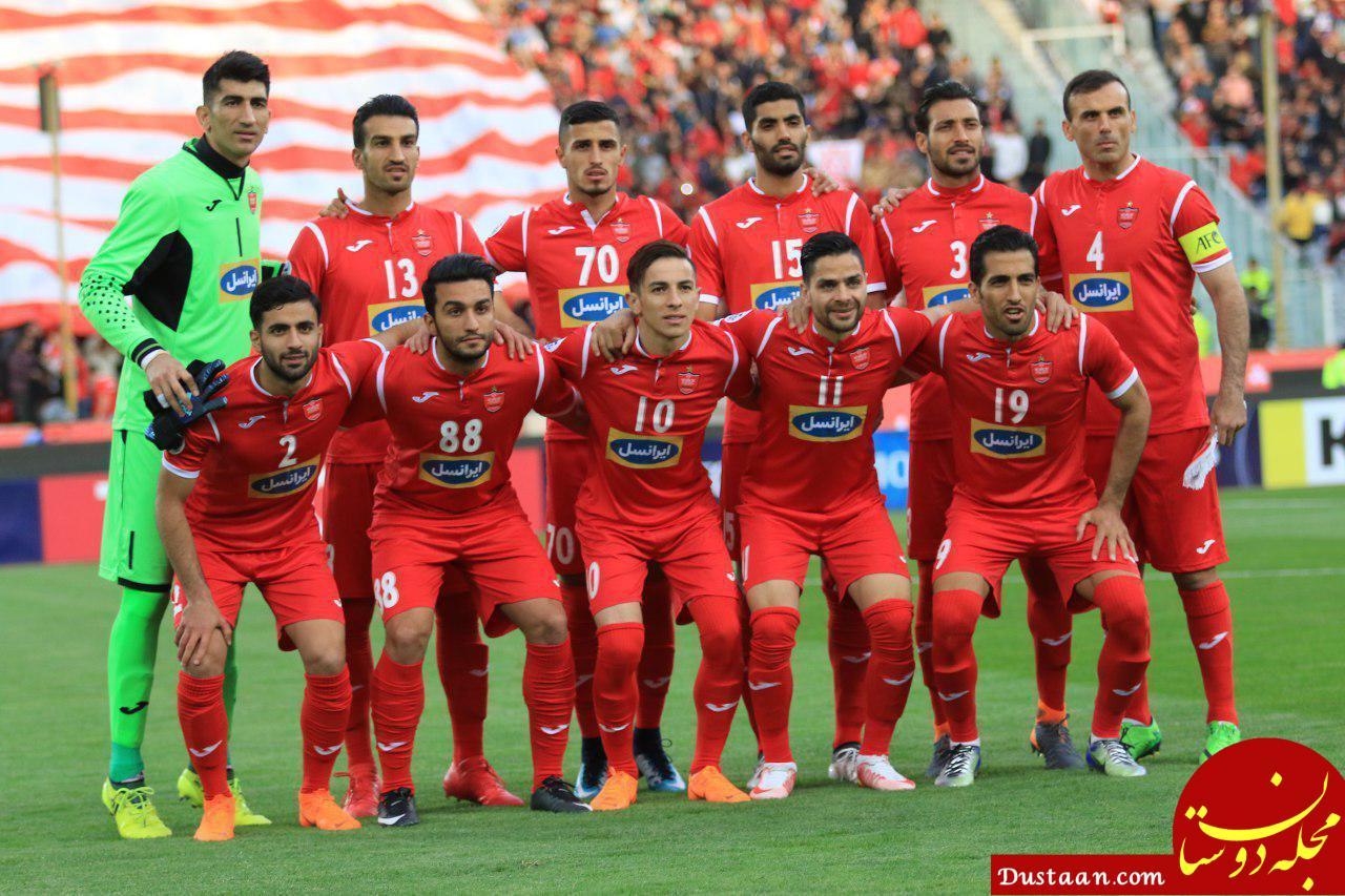 www.dustaan.com ترکیب پرسپولیس برای بازی با الجزیره مشخص شد