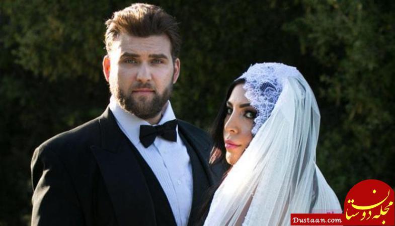 www.dustaan.com واکنش بازیگر مشهور به ازدواج های متعدد پسرش! +تصاویر