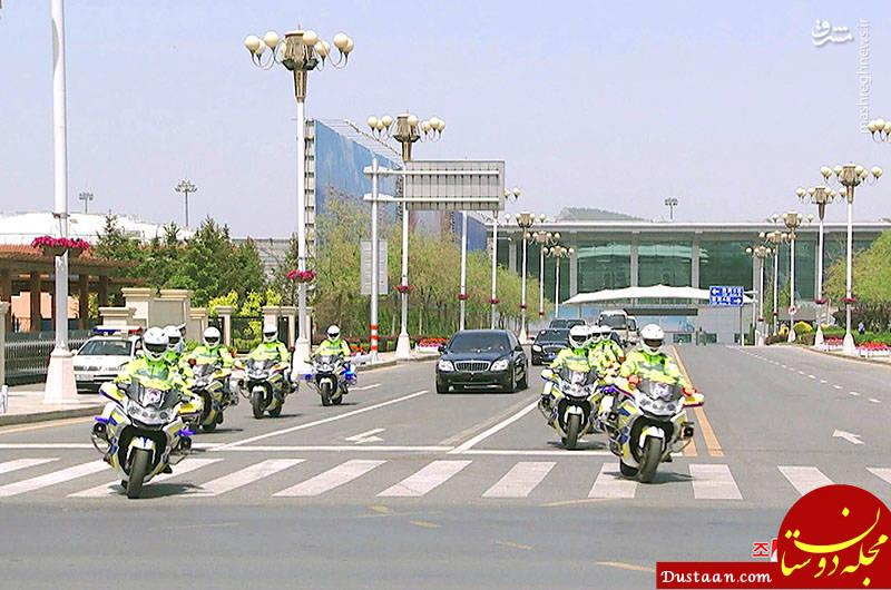 www.dustaan.com اسکورت «کیم جونگ اون» در چین +تصاویر