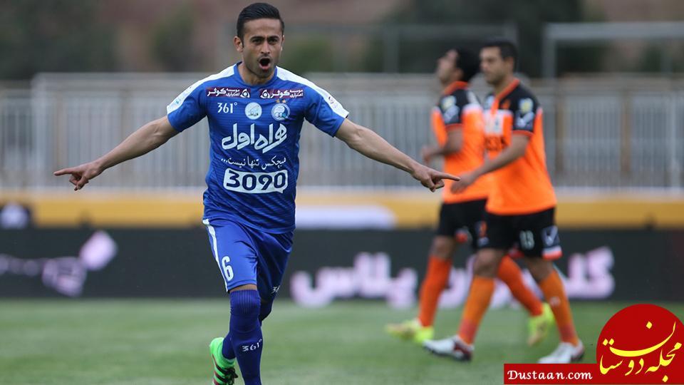 www.dustaan.com شایعه تلخ از اردوی استقلال /ذوب که هیچ، امید ابراهیمی جام جهانی را هم از دست داد؟