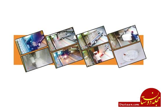 www.dustaan.com سرقت به سبک فیلم های هالیوودی! +عکس