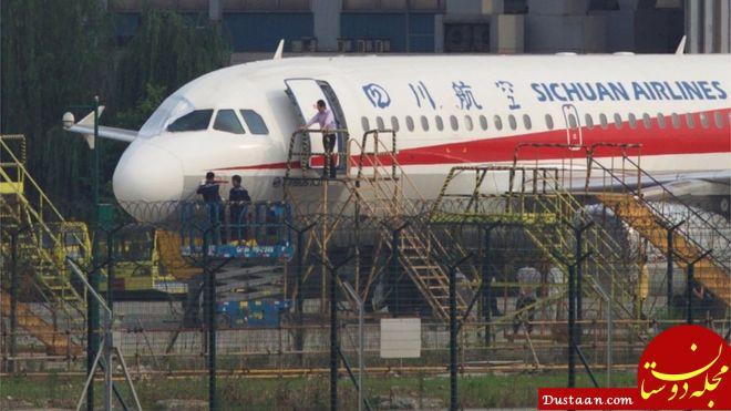 www.dustaan.com هواپیمای بی پنجره از ارتفاع ۱۰ کیلومتری به سلامت به زمین نشست! +عکس