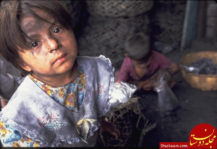 www.dustaan.com گزارش تکان دهنده روزنامه ایران از فقر و بچه های کرایه ای بیخ گوش تهران
