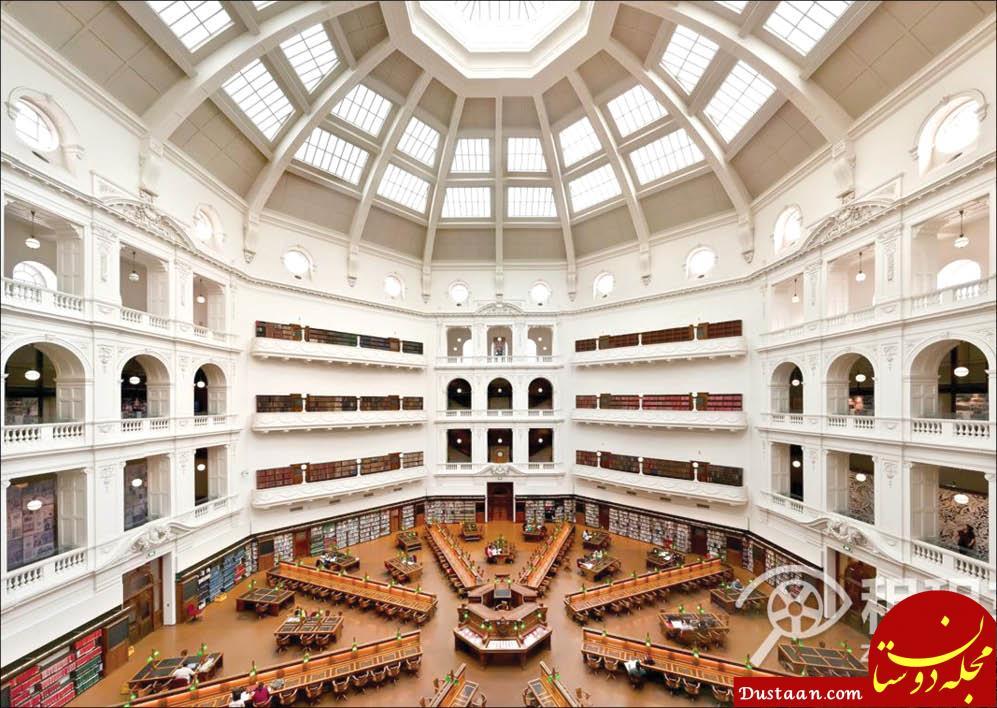 www.dustaan.com معروف ترین کتابخانه های جهان چقدر بازدید کننده دارند؟ +تصاویر