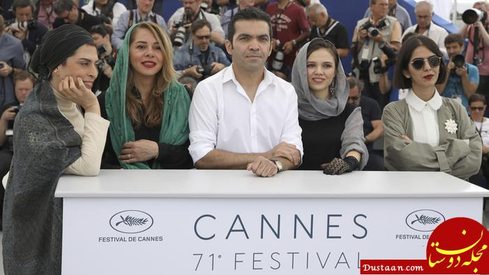 www.dustaan.com واکنش کیهان به جایزه دادن جشنواره کن به پناهی