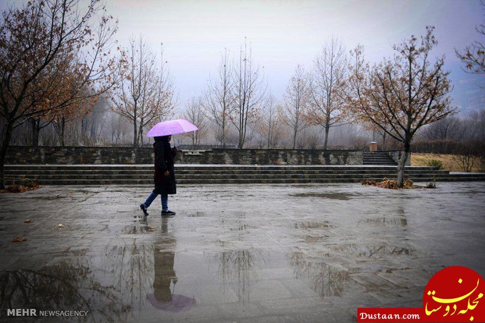 www.dustaan.com هوای تهران بارانی می شود
