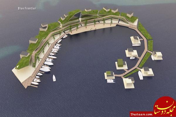 www.dustaan.com خانه هایی زیبا که با جزر و مد زیر آب می روند! +عکس