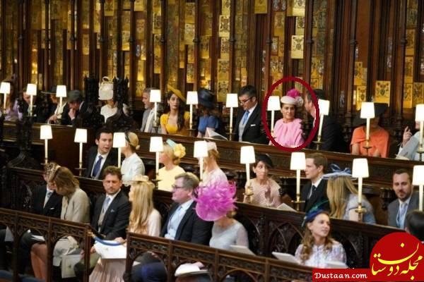 www.dustaan.com تنها ایرانی حاضر در مراسم عروسی نوه ملکه انگلیس +عکس