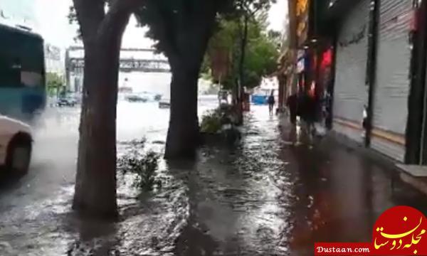 www.dustaan.com آخرین اعلام هواشناسی: بارش ها ادامه دارد/ در انتظار باد شدید در تهران