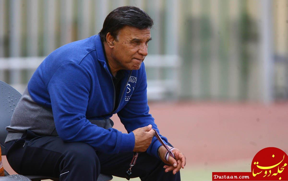 www.dustaan.com پرویز مظلومی: دوست داشتم با پرسپولیس بازی میکردیم