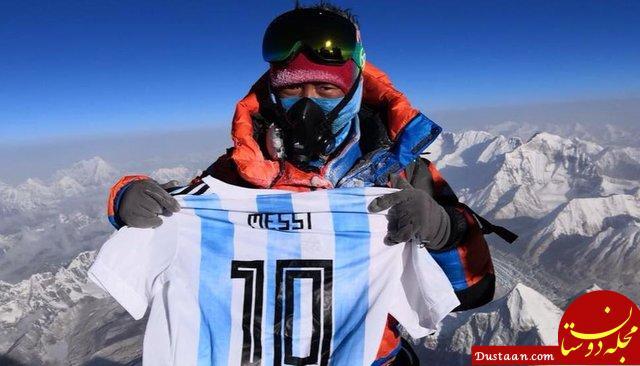 www.dustaan.com نام مسی در قله اورست! +عکس