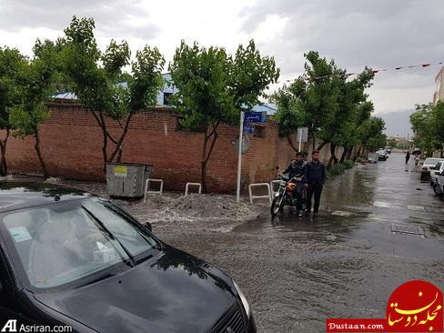 www.dustaan.com نجات نوجوان از غرق شدن در جوی آب +تصاویر