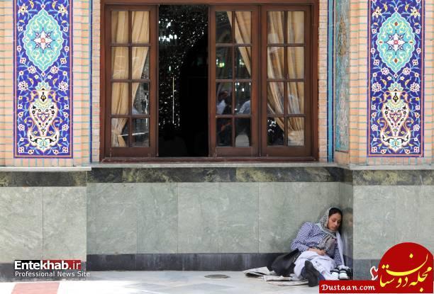 www.dustaan.com حال و هوای امامزاده صالح در ماه رمضان از نگاه رسانه خارجی +تصاویر