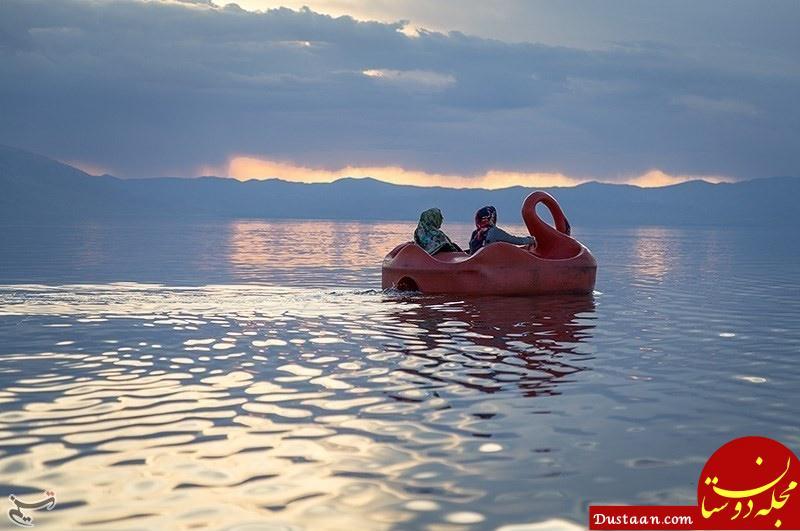 www.dustaan.com عکس هایی که نشان می دهد حال دریاچه ارومیه بهتر شده