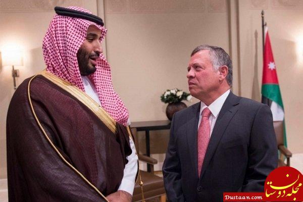 www.dustaan.com عبدالله دوم به سعودی پشت کرد؛ افتتاح خط دریایی بین امان و دوحه