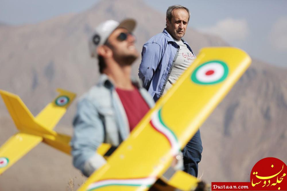 www.dustaan.com همبازی شدن امین حیایی و پسرش دارا در این فیلم! +تصاویر