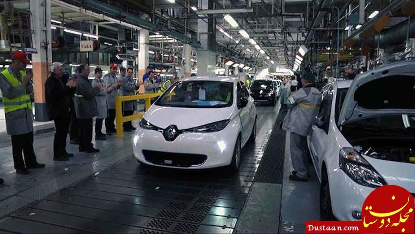 www.dustaan.com چرا چشم پوشی از بازار خودروی ایران برای فرانسوی ها سخت است؟