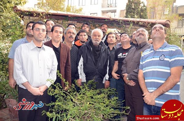 www.dustaan.com ناصر ملک مطیعی: از حالا برای تیم ملی هورا می کشیم