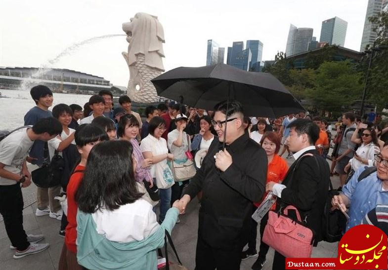 www.dustaan.com سلفی «کیم جونگ اون» در سنگاپور! +عکس