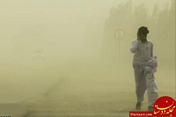 www.dustaan.com طوفان سهمگین در زابل؛ مصدومیت 99 نفر