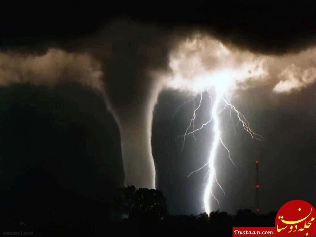 www.dustaan.com ۲۵ عکس شگفت انگیز از رعد و برق +تصاویر