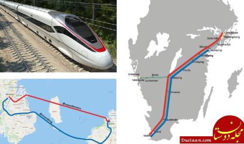 www.dustaan.com شروع به کار ساخت نخستین خط متروی بین کشوری جهان +تصاویر