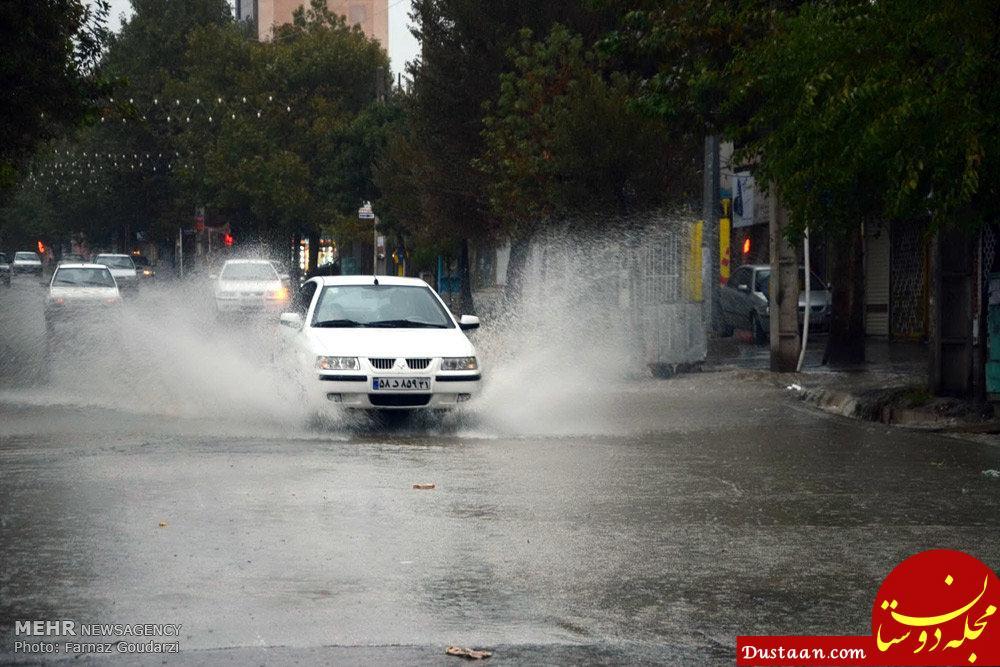 www.dustaan.com پیش بینی بارش شدید باران در قزوین ، البرز، تهران و سمنان