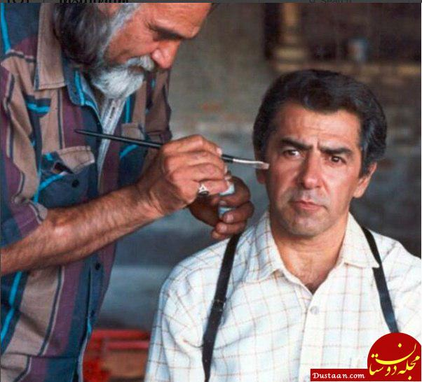 www.dustaan.com درگذشت ایرج صفدری چهره پرداز و بازیگر کهنه کار سینما +عکس