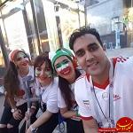 www.dustaan.com حمایت جالب هواداران سپیدرود از علی کریمی +عکس
